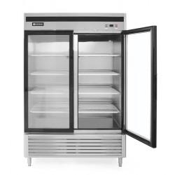 Szafa chłodnicza Kitchen Line przeszklona 2-drzwiowa 1335L