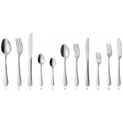 """Sztućce """"BLUES"""" nóż stołowy - zestaw 6 szt."""