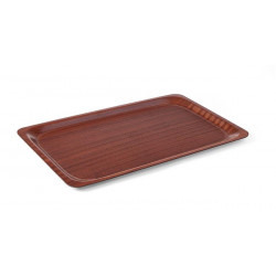 Taca antypoślizgowa drewniana - prostokątna 265x200