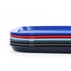 Taca z polipropylenu - FAST FOOD 350x450 niebieska