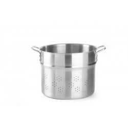 Wkład do gotowania pierogów, kopytek i makaronu - Profi Line, perforowany 41 l  śr. 400 x 330 h