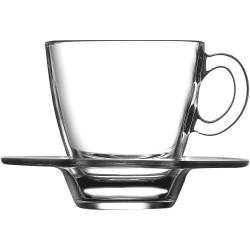 Filiżanka do espresso 72 ml ze spodkiem
