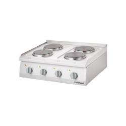 Kuchnia elektryczna, 4-polowa, nastawna, 10.4 kW