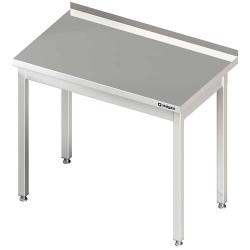 Stół przyścienny bez półki 1200x600x850 mm skręcany