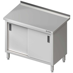 Stół przyścienny z drzwiami suwanymi 1000x700x850 mm