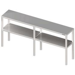 Nadstawka na stół podwójna  1500x300x700 mm