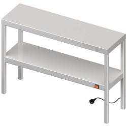 Nadstawka grzewcza na stół podwójna  1100x400x700 mm