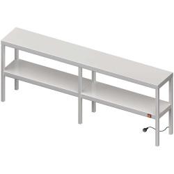 Nadstawka grzewcza na stół podwójna  1500x300x700 mm