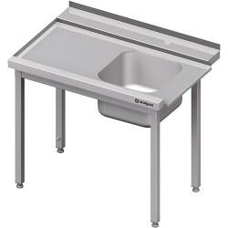 Stół załadowczy(L) 1-kom. bez półki do zmywarki SILANOS 800x760x900 mm skręcany