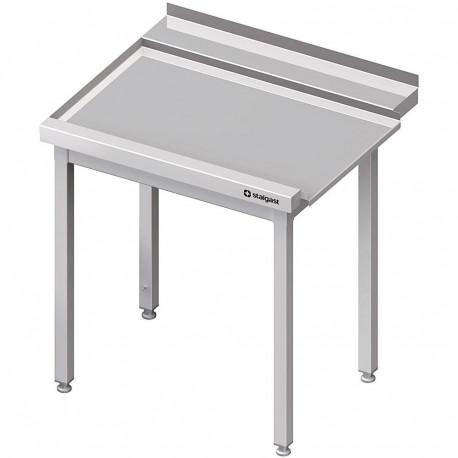 Stół wyładowczy(L), bez półki do zmywarki SILANOS 1100x760x900 mm skręcany