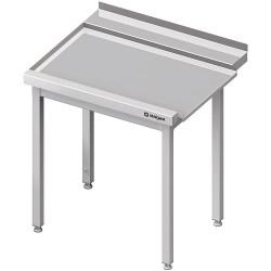 Stół wyładowczy(L), bez półki do zmywarki SILANOS 1300x760x900 mm skręcany