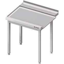 Stół wyładowczy(L), bez półki do zmywarki SILANOS 1400x760x900 mm skręcany