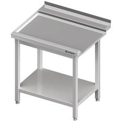 Stół wyładowczy(L), z półką do zmywarki SILANOS 800x760x900 mm skręcany