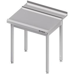 Stół wyładowczy(P), bez półki do zmywarki STALGAST 1000x750x880 mm skręcany