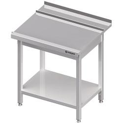 Stół wyładowczy(P), z półką do zmywarki STALGAST 900x750x880 mm skręcany