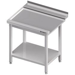 Stół wyładowczy(L), z półką do zmywarki STALGAST 800x750x880 mm skręcany