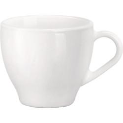 Filiżanka do cappuccino, Aromateca, biała, V 0,22 l