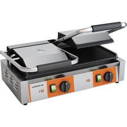 Kontakt grill podwójny ryflowany, P 3.6 kW