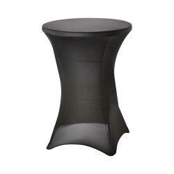 Pokrowiec na stół barowy 950141, czarny