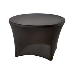 Pokrowiec na stół okrągły 950131, czarny