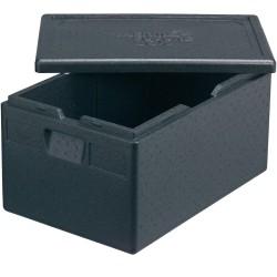 Pojemnik termoizolacyjny, czarny, 600x400x300 mm