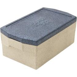 Pojemnik termoizolacyjny, szary, GN 1/1 200 mm