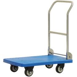 Wózek platformowy z tworzywa, składany