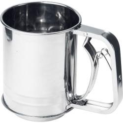 Kubek stalowy, przesiewak do mąki, Ø 100 mm