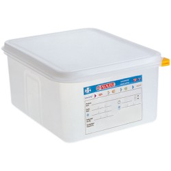 Pojemnik GN 1/2 100 polipropylen z pokrywką szczelną